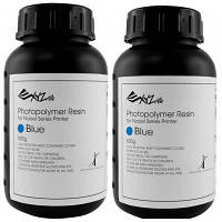 Фотополимер XYZprinting Photopolymer Resin 2x500ml Bottles,Blue, forNobel (RUGNRXTW21K)