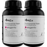 Фотополимер XYZprinting Photopolymer Resin 2x500ml Bottles,Magenta,f/Nobel (RUGNRXTW15E)