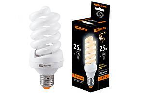 Лампа энергосберегающая КЛЛ-FS-25 Вт-2700 К–Е27 (60х141 мм)