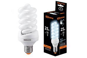 Лампа энергосберегающая КЛЛ-FS-25 Вт-4000 К–Е27 (60х141 мм)