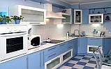 Синяя кухня на заказ. , фото 3