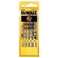 Набор сверл DeWALT EXTREME по кирпичу, 5шт, d=4,5,6,8,10м (DT6956)