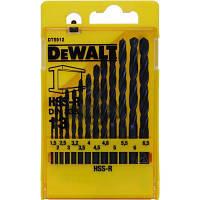 Набор сверл DeWALT HSS-R по металлу, 13шт, d=1,5-6,5мм. (DT5912)