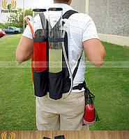 Рюкзак с резервуарами для коктейлей на спину. Дозатор напитков, 6л