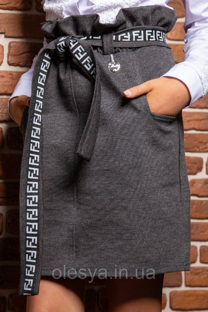 Модная юбка Тая для девочек подростков Размер 134