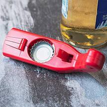 Открывалка, открывашка для бутылок Cap Gun Opener, фото 3