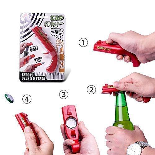 Открывалка, открывашка для бутылок Cap Gun Opener