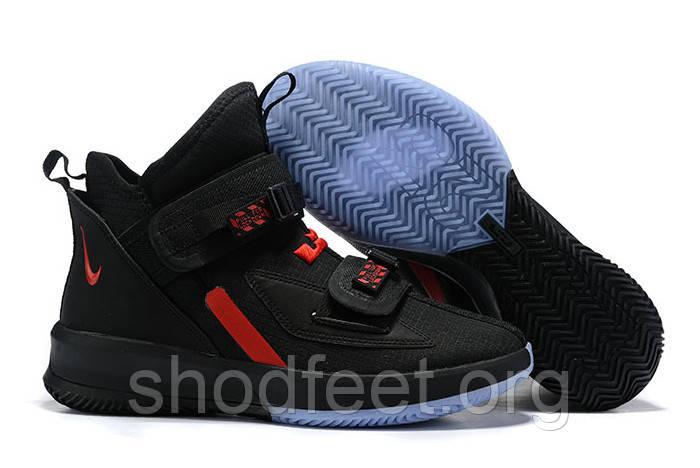 Кроссовки Nike LeBron Soldier 13 SFG EP Black/University Red