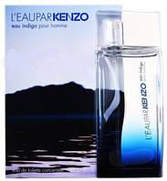 KENZO L`EAU PAR KENZO EAU INDIGO POUR HOMME EDT 100 мл ТЕСТЕР мужская туалетная вода