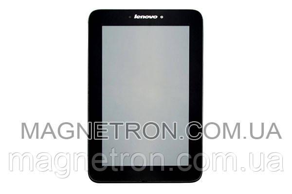 Дисплей с тачскрином и задней рамкой для планшета Lenovo A2107A, фото 2