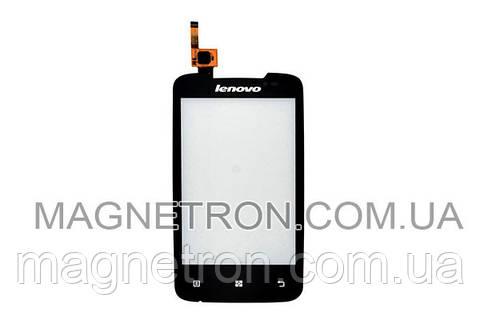 Cенсорный экран (тачскрин) для мобильного телефона Lenovo A390