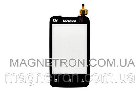 Сенсорный экран (тачскрин) #TF0352B-LJ для мобильного телефона Lenovo A208
