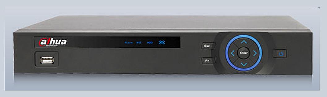Видеорегистратор HDCVI 16-ти канальный гибридный Dahua DH-HCVR5116H-V2