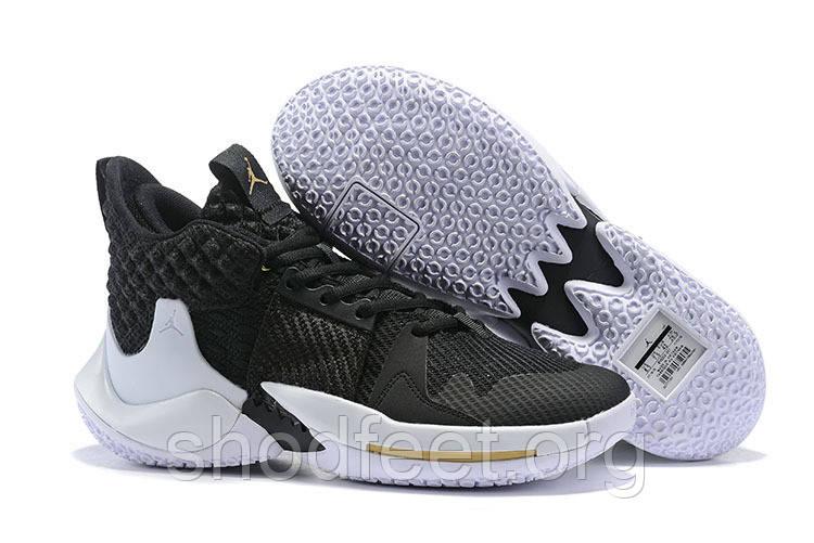 Кроссовки Air Jordan Why Not Zer0.2 PF Black White