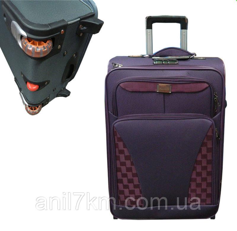 Малий дорожній валізу на трьох колесах
