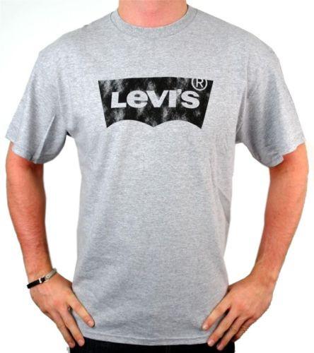Футболка Levis Men's Tshirt White Levis Mens Short Sleeve Logo