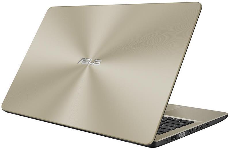 Ноутбук ASUS X542UN-DM043T 15.6FHD AG/Intel i7-8550U/16/1000+128SSD/DVD/NVD150-4/W10/Gold