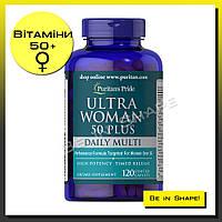 Мультивитамины женские Puritan's Pride Ultra Woman 50+, 60 caplets