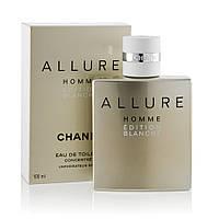 Мужская туалетная вода Chanel Allure Homme Blanche 100 ml (Шанель Аллюр Хом Бланш)