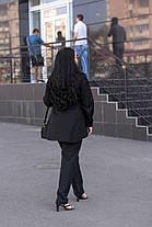 Женская рубашка с баской в деловом стиле батал с 48 по 82 размер, фото 3
