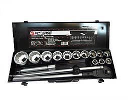 Набор ручных инструментов двенадцатигранный для дома в метал кейсе 16 предметов Forsage