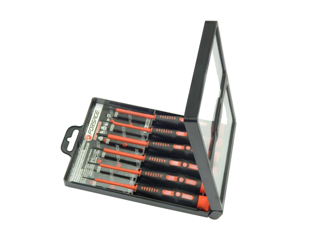 Набор отверток диэлектрических 6пр. (SL: 1.5,2.0, PZ: PZ 00,0,PH: 00,0 )