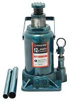 Домкрат бутылочный 12т низкий с клапаном (h min 185мм, h max 335мм)