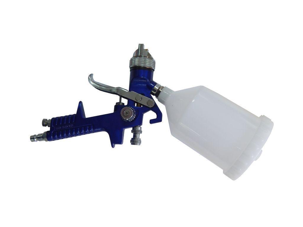 Краскораспылитель с верхним пластиковым бачком (бачок 120мл, сопло 0.8мм)