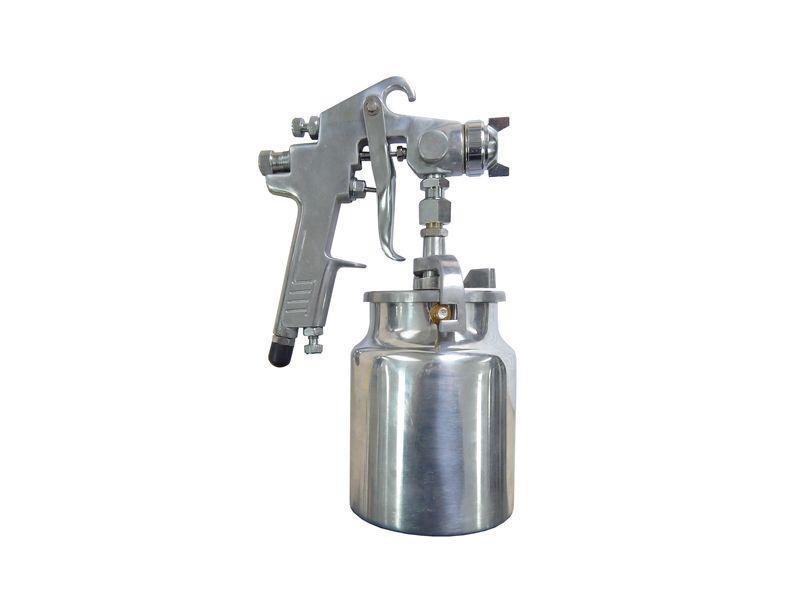 Краскораспылитель с нижним металлическим бачком (бачок 1л, сопло 2.0мм)