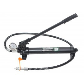 Насос гидравлический с манометром 10т (объем масла - 0.5л, давление - 630 bar ) RF-0100-2A-2G К:15916