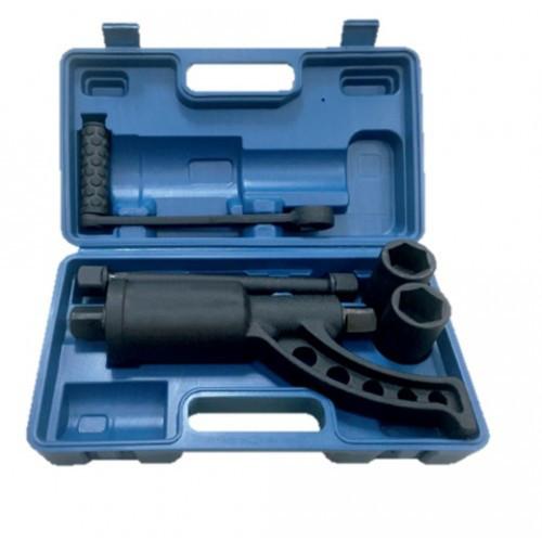 Гайковерт ручной с редуктором (головки 32,33 длина 330 мм передаточное число 1:78, 6800 Н/м) в кейсе FK-341141