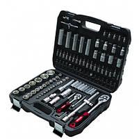 Набор ручного инструмента для автомобиля для дома и гаража в кейсе 108пр. 1/4'', 1/2'' (6гр.)
