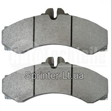 Колодки тормозные передние/задние MB Sprinter 408-416/VW LT 46 96- AUTOTECHTEILE 4241