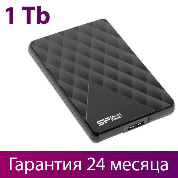 """Внешний жесткий диск 1 Тб Silicon Power Diamond D06, Black, 2.5"""", USB 3.0 (SP010TBPHDD06S3K)"""