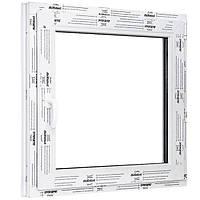 Окно одностворчатое поворотно-откидное ALMplast 600х600 мм