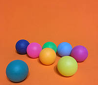 Тенисный шарик для лототрона микс Цельный | 40 мм