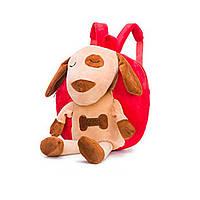 Рюкзак детский Dog красный