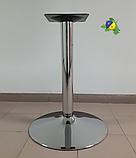 Опоры для столов металлические хромированные, чугунные, из нержавеющей стали Подстолья, фото 2