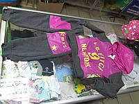 Детский утепленный спортивный костюм р.86-98