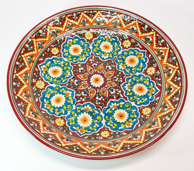 Ляганы круглые (узбекские тарелки) для подачи плова