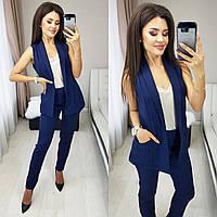 Костюм стильный двойка (жилет + брюки ) в расцветках