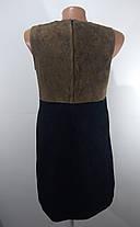 Платье кожа замш размер 38, фото 2