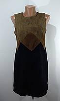 Платье кожа замш размер 38, фото 3