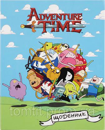 "Дневник школьный ""Adventure Time"", ТМ Kite, фото 2"
