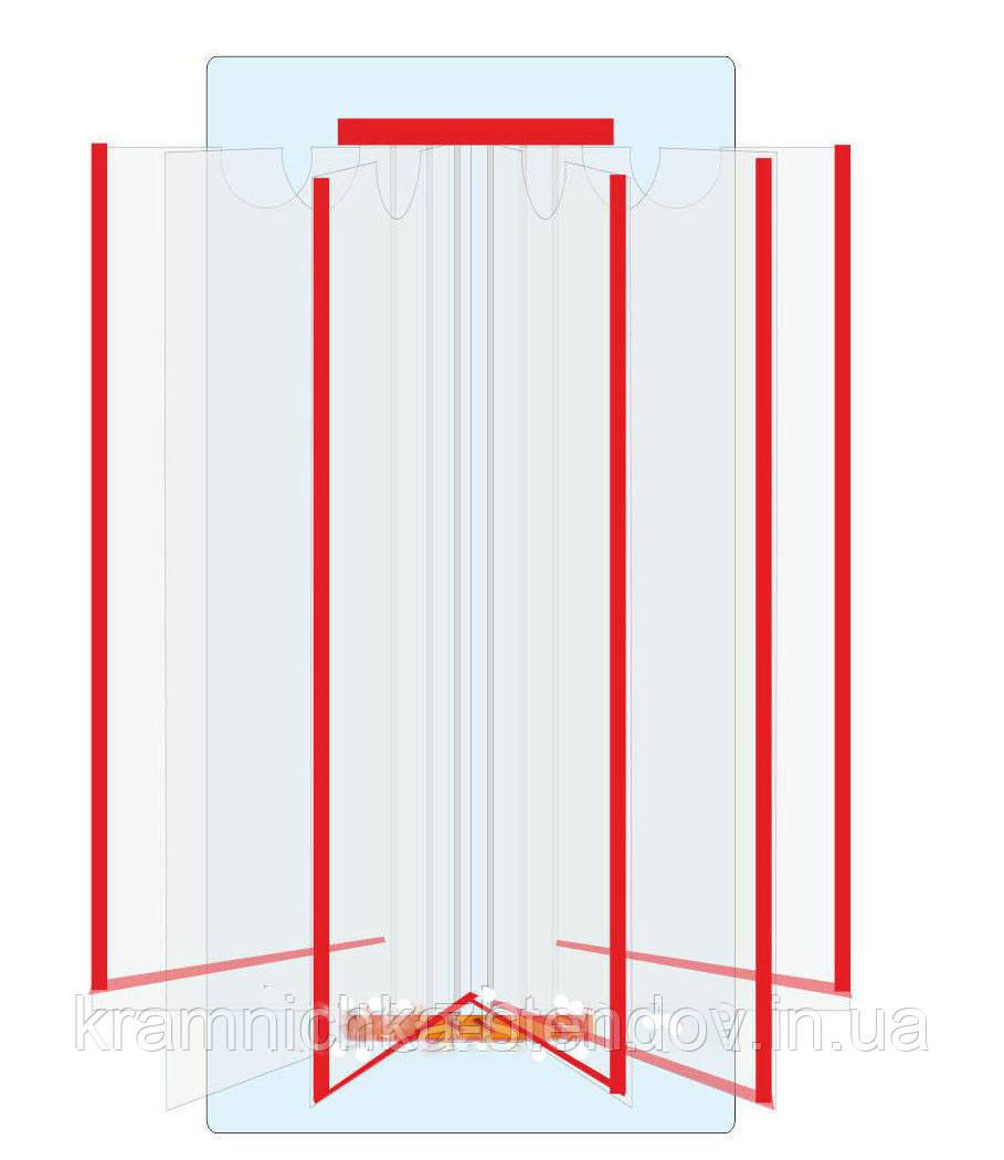 Настенная перекидная система формата А-3 на 5 карманов