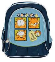 """Рюкзак школьный 1 Вересня темно-синий, 30х15х41 см, """"Гарфилд"""" 551003 1 вересня"""