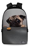 Стильный школьный рюкзак с 3D принтом