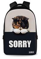 Стильный школьный рюкзак с 3D принтом, фото 1