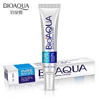 Крем для лицаот прыщей и угрей концентрированный анти-акне Bioaqua Pure Skin Removal of Acne Cream (30г)
