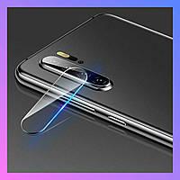 Защитное стекло на камеру Huawei P30 Lite